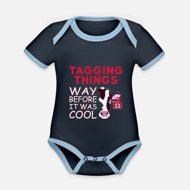 Mark Something Marked Before It Was Cool - Organic Contrast Baby Bodysuit