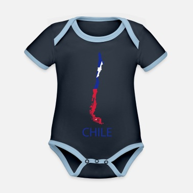 Chile chile - Organic Contrast Baby Bodysuit