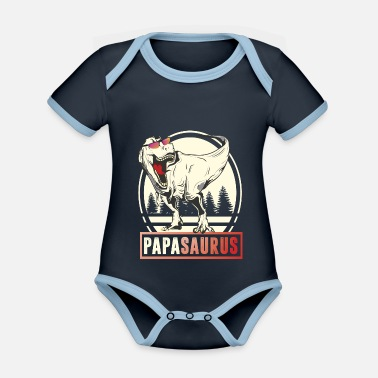 Arm far saurus rex papasaurus papa far herrer far - Økologisk kontrast babybody