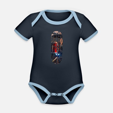 Drumstick Drums drummers Band - Organic Contrast Baby Bodysuit