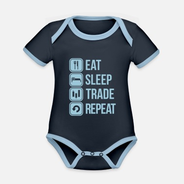 Trade trade - Organic Contrast Baby Bodysuit