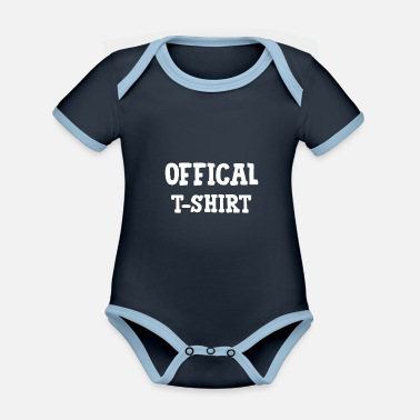 Officielle officiel - Økologisk kontrast babybody