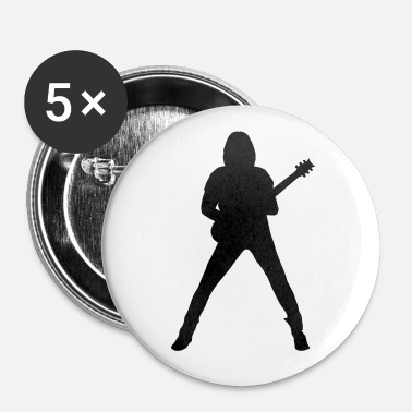 Guitarist guitarist - Buttons/Badges mellemstor, 32 mm