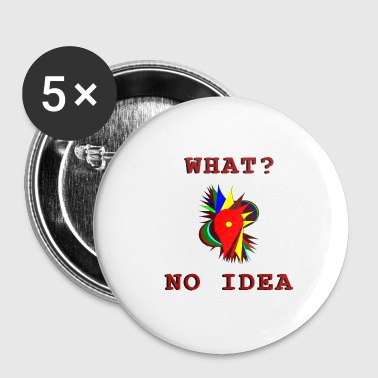 No Idea - Buttons medium 32 mm
