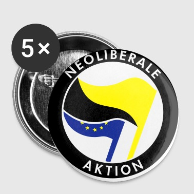 Neoliberale Aktion - Buttons mittel 32 mm