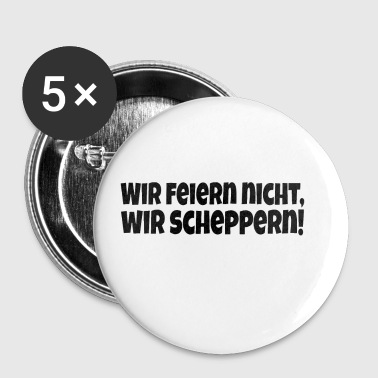 Schepper Button 5er Pack - Buttons mittel 32 mm