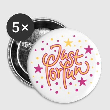 Just for Fun - Buttons middel 32 mm