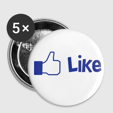 Like - Buttons middel 32 mm