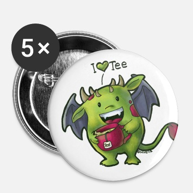Tee Monster - Buttons middel 32 mm