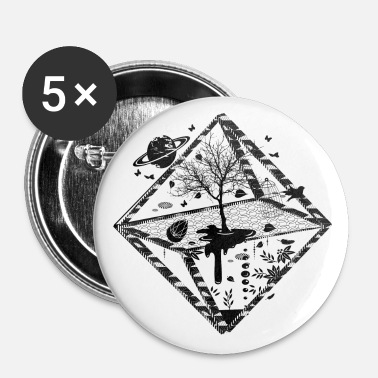 A surrealistic object - Buttons middel 32 mm (5-pack)
