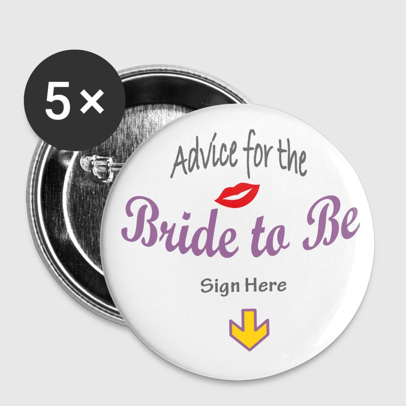 Bride to Be - Buttons medium 32 mm