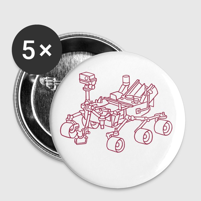 Curiosity, le Mars Rover - Badge moyen 32 mm