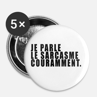 Sarcasme SARCASME  - Badge moyen 32 mm