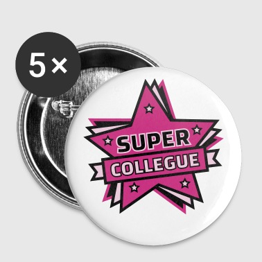 super collègue - Badge moyen 32 mm