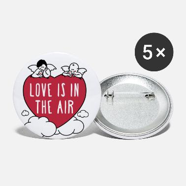 valentine - love is in the air 3c - Buttons mittel