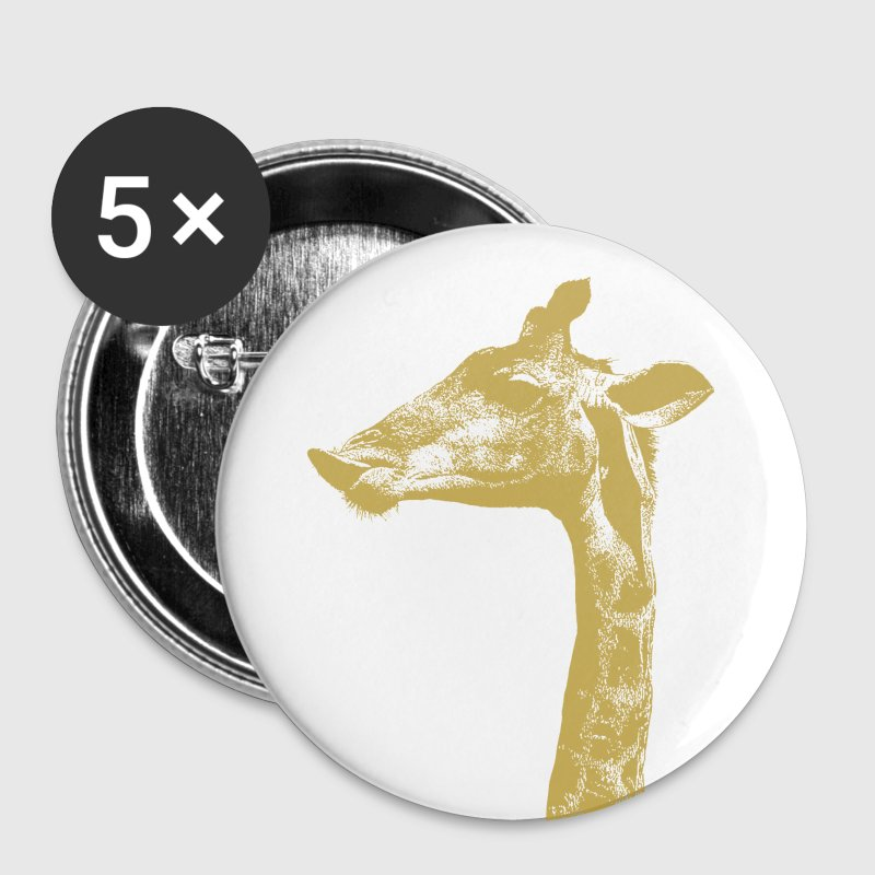 Giraffe - Buttons medium 32 mm