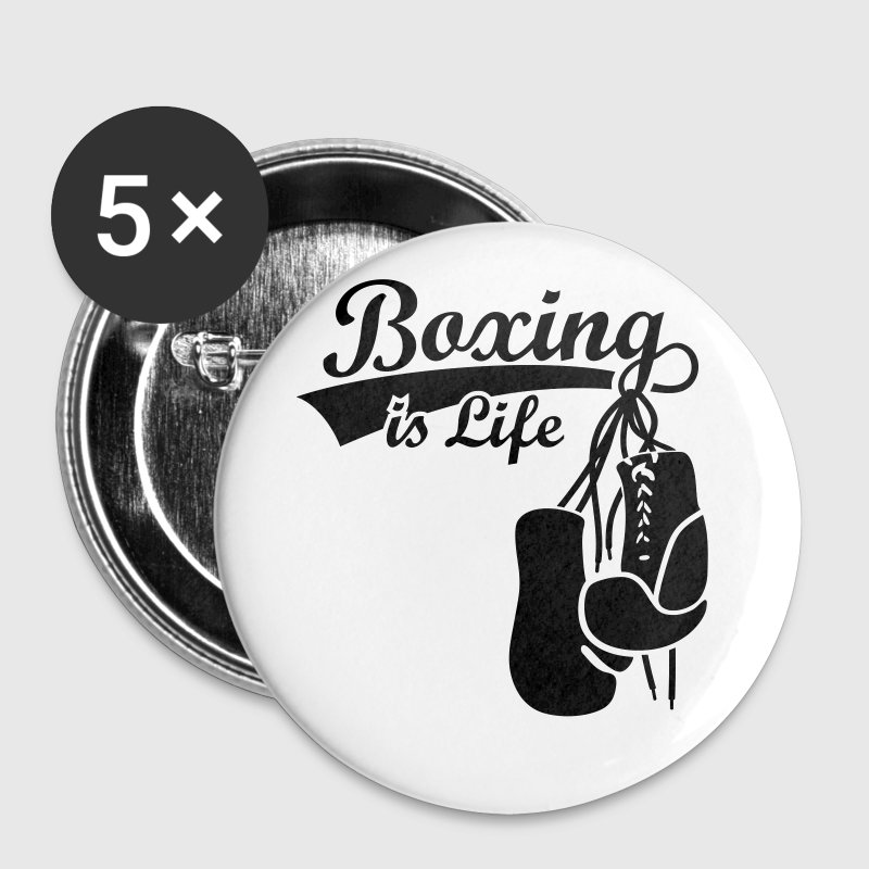 Boxing, Boxer Boxing Gloves boxer  - Buttons medium 32 mm