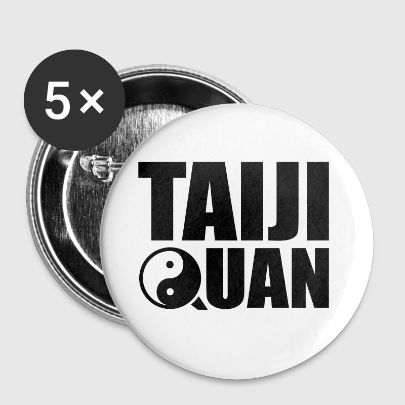 Taiji  Quan - Tai Chi - Badge moyen 32 mm