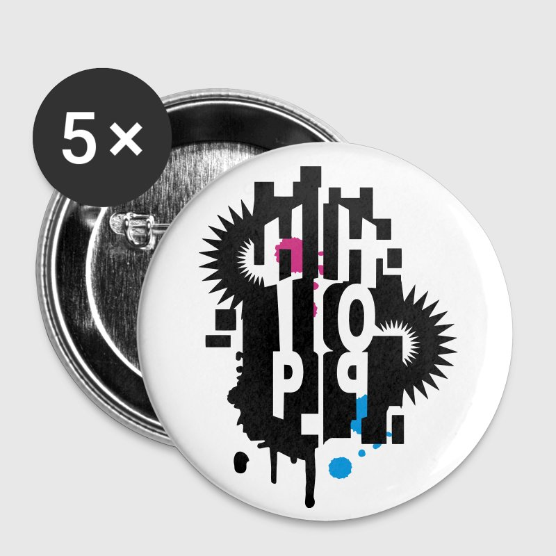 Hip Hop Graffiti - Badge moyen 32 mm