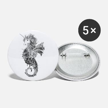 Mythical Collection Unicorn seahorse - Middels buttons