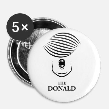 Donald Trump The Donald (Donald Trump Carikature) - Buttons medium 32 mm