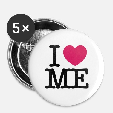 I Love I Love Me - Badge moyen 32 mm