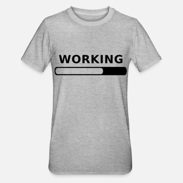 Working Working Progress - T-shirt polycoton Unisexe