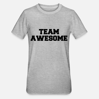 Team Awesome Team Awesome Logo - Unisex Polycotton T-Shirt