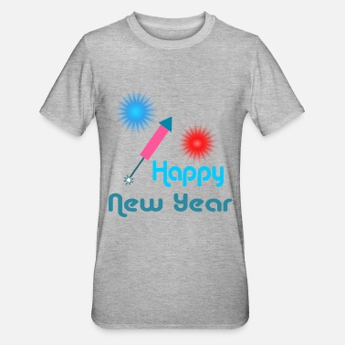 Happy New Year Happy New Year - Unisex polycotton T-shirt