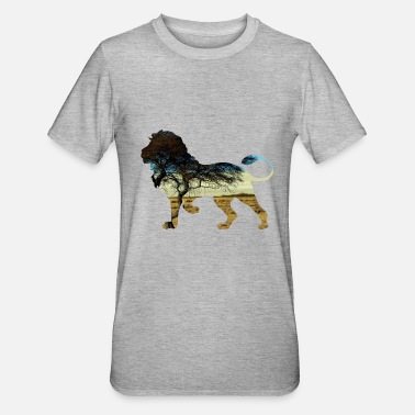 Steppe Lion in the steppe - Unisex Polycotton T-Shirt