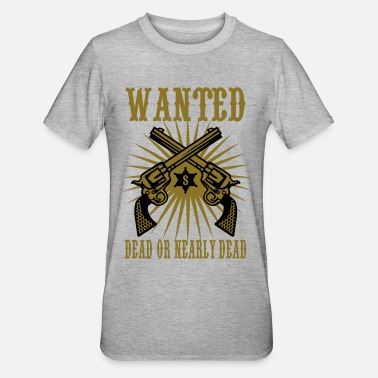 Wanted wanted - Unisex Polycotton T-Shirt