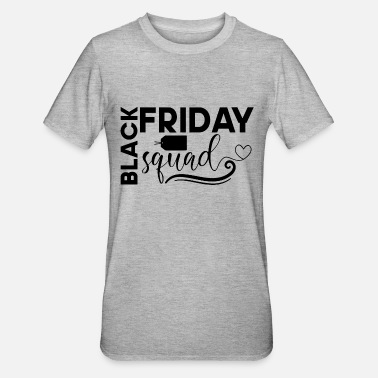Price Tag Black friday squad shopping fun with price tag - Unisex Polycotton T-Shirt