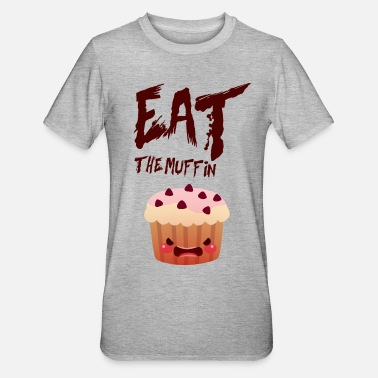 Muffin wütend Muffin - Unisex Polycotton T-Shirt