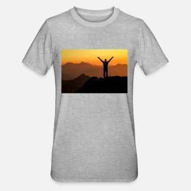 Bavaria Happy successful winner on the Arm in Ar summit - Unisex Polycotton T-Shirt