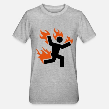 Set Fire do not set yourself on fire - Unisex Polycotton T-Shirt