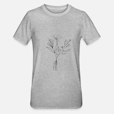 Filigree Filigree flowers - Unisex Polycotton T-Shirt