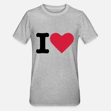 Tlc Heart Love - Unisex Polycotton T-shirt