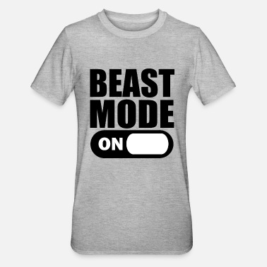 Beast Mode Beast Mode On - Unisex Polycotton T-shirt