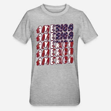 Stars And Stripes America 4th Of July Independence Day Gift Girls - Unisex Polycotton T-Shirt