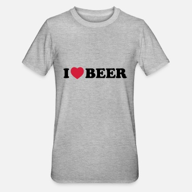 I Love Beer I love beer - Polycotton-T-shirt unisex