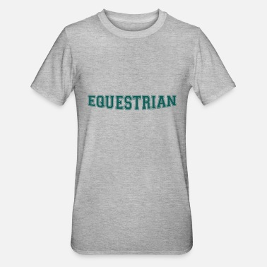 Writing Equestrian Writing - Polycotton-T-shirt unisex