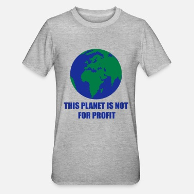 Planet Earth planet Earth - Unisex Polycotton T-Shirt