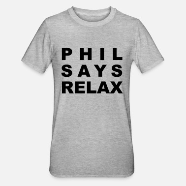 Phil Phil - Unisex Polycotton T-Shirt