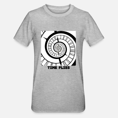 Time Lord Time flies - Unisex Polycotton T-Shirt