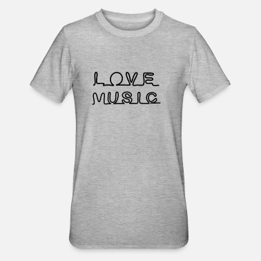 Musicstar LOVE MUSIC ICON * I love Rock n Roll - Unisex Polycotton T-Shirt