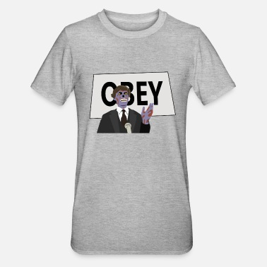 Obey Obey - Unisex Polycotton T-Shirt