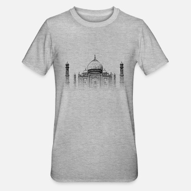 Agra Around The World: Taj Mahal - Agra - Unisex Polycotton T-Shirt