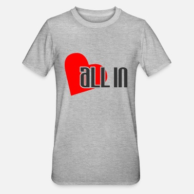 Chipmaster all_in_herz - Camiseta en polialgodón unisex