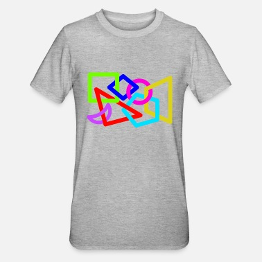 Sickle 7 geometric figures - Unisex Polycotton T-Shirt