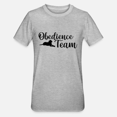 Obedience Obedience Team Hundesport - Unisex Polycotton T-Shirt